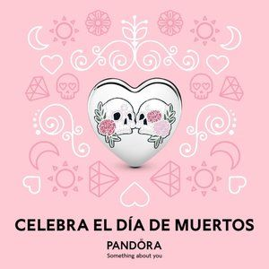 Pandora Mexico Exclusive Day of the Dead Charm